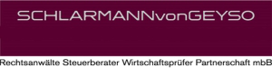 SCHLARMANNvonGEYSO Rechtsanwälte Steuerberater Wirtschaftsprüfer Partnerschaft mbB